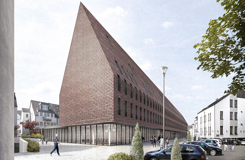 Perspektive neues VG-Haus Montabaur