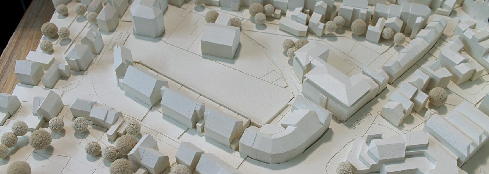 Plankomodell Grundstück