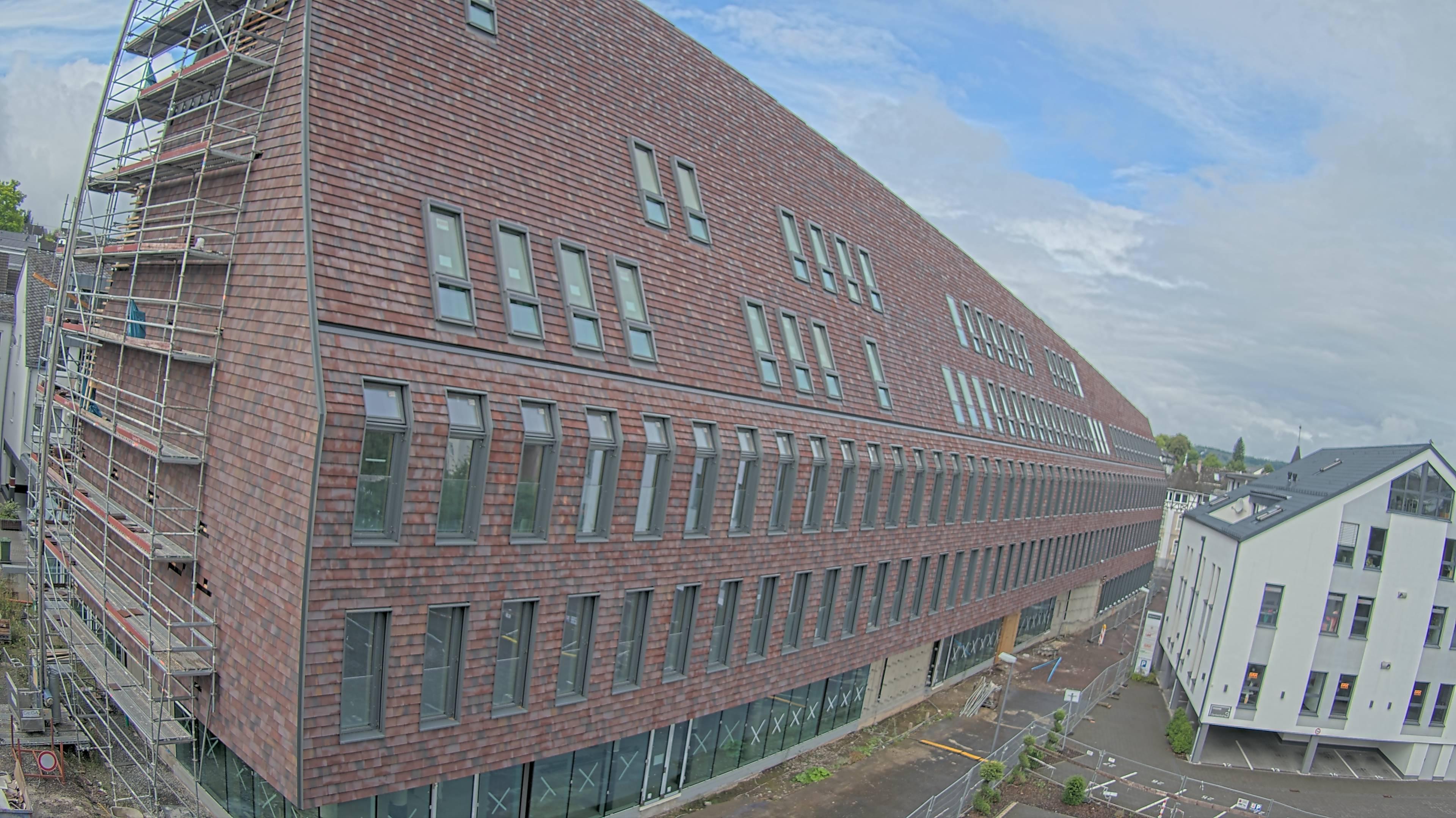 Webcam-Bild der Baustelle